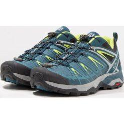 Salomon X ULTRA 3 Obuwie hikingowe mallard blue/reflecting pond/lime green. Zielone buty skate męskie marki Salomon, z gumy, outdoorowe. W wyprzedaży za 439,20 zł.