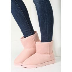 Buty zimowe damskie: Różowe Śniegowce Satsfaction