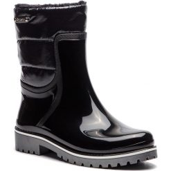 Kalosze KAZAR - Elvira 34825-TS-00 Black. Czarne buty zimowe damskie Kazar, z gumy. Za 399,00 zł.