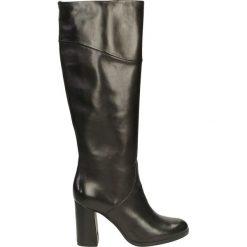 Kozaki ocieplane - 70002302 NERO. Żółte buty zimowe damskie marki Venezia, ze skóry. Za 259,00 zł.