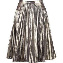Spódniczki: GAP Spódnica trapezowa metallic gold