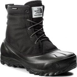 Śniegowce THE NORTH FACE - Tsumoru Boot T93MKSZU5  Tnf Black/Dark Shadow Grey. Czarne śniegowce męskie marki The North Face, z gumy. W wyprzedaży za 349,00 zł.