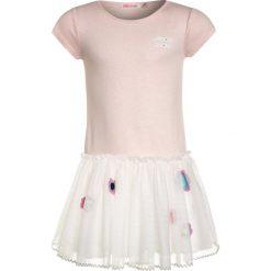 Sukienki dziewczęce z falbanami: Billieblush Sukienka z dżerseju rose ecru
