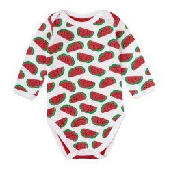 Garnamama Dziecięce Body Pop Art 68 Czerwony. Czerwone body niemowlęce marki Garnamama, z bawełny. Za 25,00 zł.