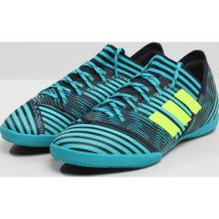 Adidas Performance NEMEZIZ TANGO 17.3 IN  Halówki legink/syello/eneblu. Niebieskie halówki męskie adidas Performance, z materiału, do piłki nożnej. W wyprzedaży za 174,85 zł.