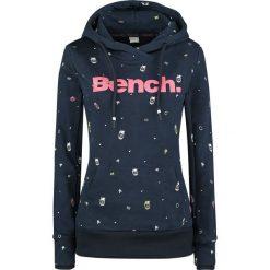 Bluzy damskie: Bench Heritage Print Corp Hoody Bluza z kapturem damska granatowy