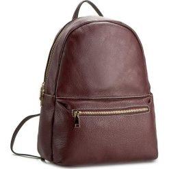 Plecak CREOLE - K10308 Bordowy. Czerwone plecaki damskie Creole, ze skóry, klasyczne. W wyprzedaży za 239,00 zł.