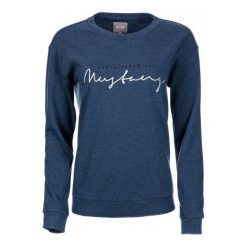 Mustang Bluza Damska Xs Niebieski. Niebieskie bluzy damskie marki Mustang, z aplikacjami, z bawełny. Za 295,00 zł.