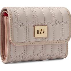Duży Portfel Damski NOBO - NPUR-0520-C004 Różowy. Czerwone portfele damskie Nobo, ze skóry ekologicznej. W wyprzedaży za 99,00 zł.