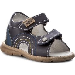 Sandały PRIMIGI - 7079400 Blue. Niebieskie sandały chłopięce Primigi, z nubiku. W wyprzedaży za 159,00 zł.