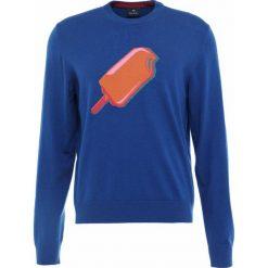 PS by Paul Smith MENS CREW NECK Sweter royal blue. Niebieskie swetry klasyczne męskie marki PS by Paul Smith, m, z materiału. W wyprzedaży za 474,50 zł.
