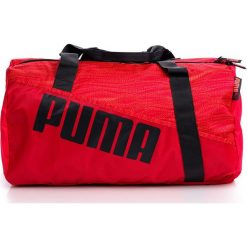 Torby podróżne: Puma Barrel 07381602 Torba różowo-czerwona (76190)