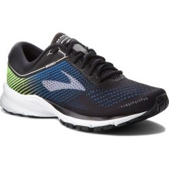 Buty BROOKS - Launch 5 110278 1D 016 Black/Blue/Green. Czarne buty do biegania męskie Brooks, z materiału. W wyprzedaży za 329,00 zł.