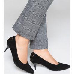 Buty ślubne damskie: Czółenka z ćwiekami