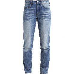 GStar LANC 3D HIGH STRAIGHT  Jeansy Straight Leg sena denim. Niebieskie jeansy damskie marki G-Star. W wyprzedaży za 428,35 zł.