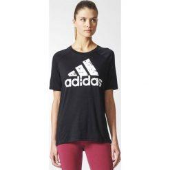 Adidas Koszulka damska SP ID Tee czarna r. M (BQ9437). Czarne topy sportowe damskie Adidas, m. Za 104,30 zł.