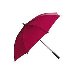 Parasol do golfa 500 UV różowy. Czerwone parasole marki INESIS. Za 59,99 zł.
