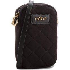 Torebka NOBO - NBAG-E3710-C020  Czarny. Czarne listonoszki damskie marki Nobo, z materiału. W wyprzedaży za 99,00 zł.
