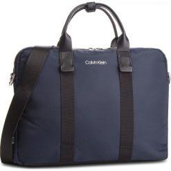 Torba na laptopa CALVIN KLEIN - Braced 1 G Laptop Bag K50K504223 068. Niebieskie torby na laptopa Calvin Klein, z materiału. Za 649,00 zł.