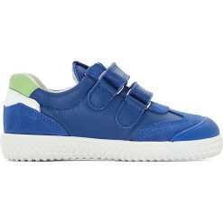 Buty sportowe chłopięce: Buty sportowe skórzane zapinane na rzep VINCENT