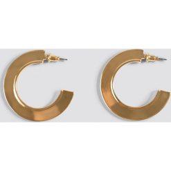 Biżuteria i zegarki damskie: Andrea Hedenstedt x NA-KD Kolczyki koła Panel – Gold