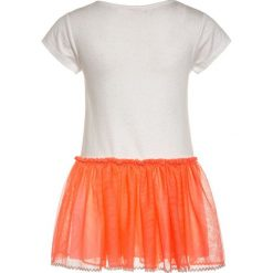 Sukienki dziewczęce z falbanami: Billieblush Sukienka z dżerseju ecru orange