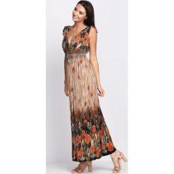 Sukienki: Pomarańczowa Sukienka Always Me