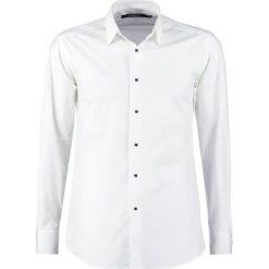 LAGERFELD Koszula biznesowa all white. Szare koszule męskie marki S.Oliver, l, z bawełny, z włoskim kołnierzykiem, z długim rękawem. Za 439,00 zł.