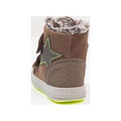 Lurchi NOROTEX Śniegowce tortora. Czarne buty zimowe chłopięce marki Lurchi, z materiału. W wyprzedaży za 215,20 zł.