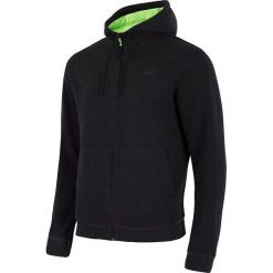 Bluzy męskie: 4f Bluza męska z kapturem H4L18-BLM003 szara r. L