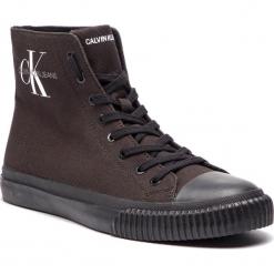 Trampki CALVIN KLEIN JEANS - Icaro S0594 Black. Czarne trampki męskie marki Calvin Klein Jeans, z gumy. Za 519,00 zł.