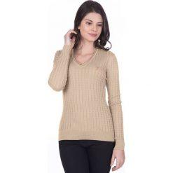 """Swetry damskie: Sweter """"Gullane"""" w kolorze beżowym"""
