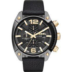 Diesel - Zegarek DZ4375. Czarne zegarki męskie marki Fossil, szklane. W wyprzedaży za 679,90 zł.