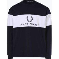 Fred Perry - Męska bluza nierozpinana, czarny. Czarne bluzy męskie rozpinane Fred Perry, m, z haftami. Za 379,95 zł.