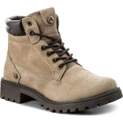 Trapery WRANGLER - Creek WL182500  Taupe 29. Brązowe buty zimowe damskie Wrangler, z materiału. W wyprzedaży za 289,00 zł.