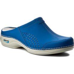Chodaki damskie: Klapki NURSING CARE - Venezia WG3A07 Electric Blue