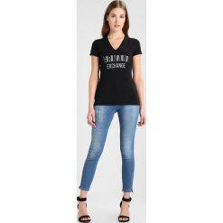 Odzież damska: Armani Exchange Tshirt z nadrukiem black