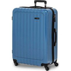 Walizka Q-Box niebieska r. M. Niebieskie walizki marki SWISSBAGS. Za 636,70 zł.