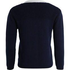 Carrement Beau Kardigan marine. Niebieskie swetry chłopięce Carrement Beau, z bawełny. Za 219,00 zł.