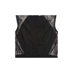 Sukienki krótkie Morgan  RENA. Czarne sukienki hiszpanki Morgan, z krótkim rękawem, mini. Za 263,20 zł.