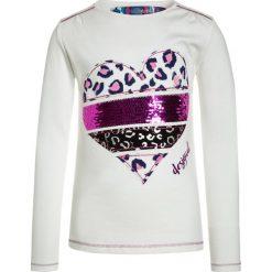 Desigual TEXAS Bluzka z długim rękawem blanco. Białe bluzki dziewczęce bawełniane marki Desigual, z długim rękawem. W wyprzedaży za 135,20 zł.