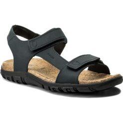 Sandały GEOX - U S. Strada C U8224C 0009B C4000 Blue. Niebieskie sandały męskie skórzane Geox. W wyprzedaży za 249,00 zł.