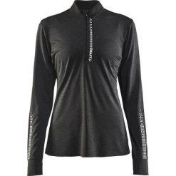 Bluzki asymetryczne: Craft Koszulka damska Mind Ls Reflective Zip Tee  Czarna r. XS (1905499-998000)