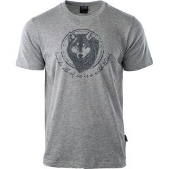 Hi-tec Koszulka męska Lupus Grey Melange r. XL. Szare koszulki sportowe męskie Hi-tec, m. Za 33,75 zł.