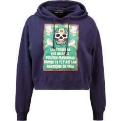 Bluzy rozpinane damskie: Each x Other EMBROIDERED HOODIE Bluza z kapturem navy