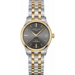 PROMOCJA ZEGAREK CERTINA DS-8 LADY COSC CHRONOMETER C033.251.22.081.00. Szare zegarki damskie CERTINA, szklane. W wyprzedaży za 1619,21 zł.