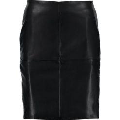 Spódniczki ołówkowe: ICHI FROZA Spódnica ołówkowa  black