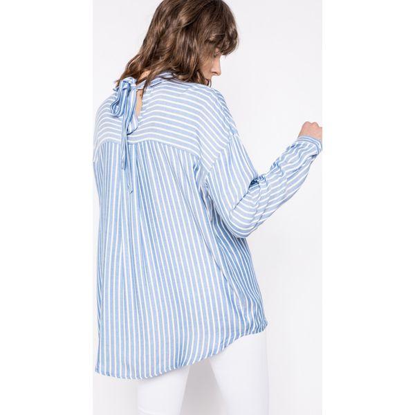8a217183469f93 Only - Koszula Bluff - Niebieskie bluzki damskie ONLY, na co dzień ...