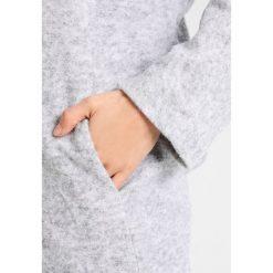 Opus HOOVER Płaszcz wełniany /Płaszcz klasyczny iron grey melange. Szare płaszcze damskie pastelowe Opus, z materiału, klasyczne. W wyprzedaży za 345,95 zł.