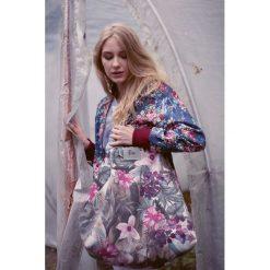 Torba Fio Shopper-Garden. Szare shopper bag damskie Pakamera, z bawełny, na ramię, duże. Za 200,00 zł.